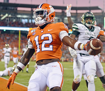 Clemson vs Charlotee September 21, 2019