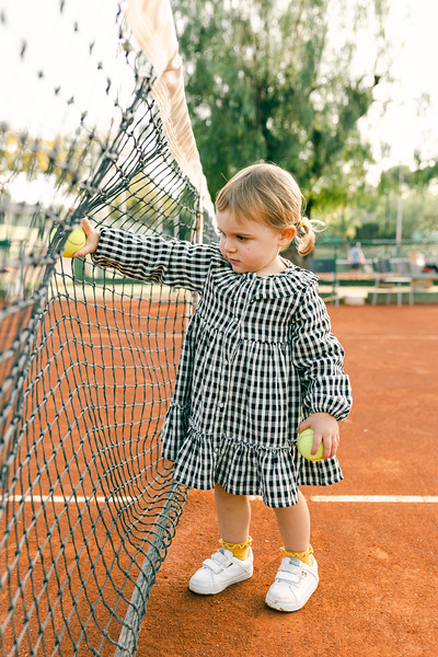 Sessió Familiar - Tennis