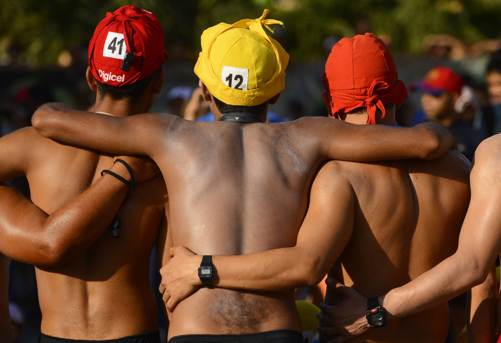 Description of . Approximately 370 lifeguard aspirants participate in the 49th