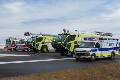 RDU Airport Drill - Mar 2018