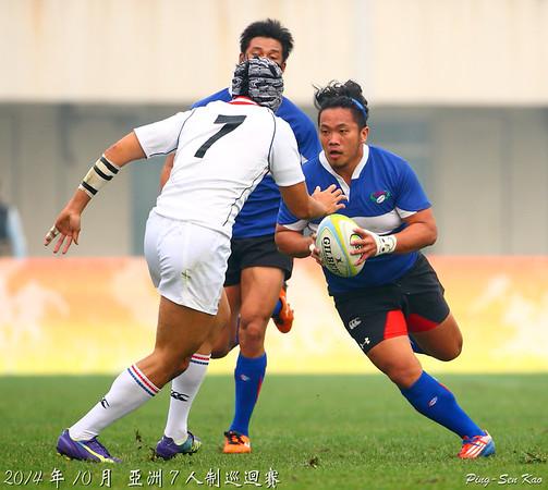 2014亞巡賽七人制中國北京站盃級半準決賽-台灣 VS 韓國(TWN vs KOR)