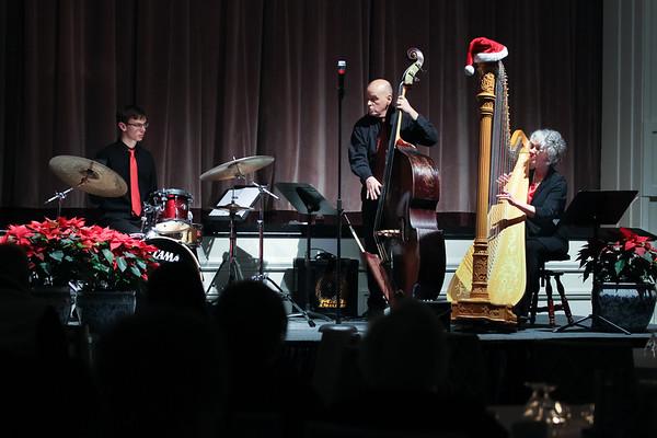 Christa Grix Jazz Harp Trio - The Community House, Birmingham 12-18-2019