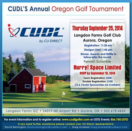 2014 CU Direct Oregon Golf Tournament at Langdon Farms, Oregon