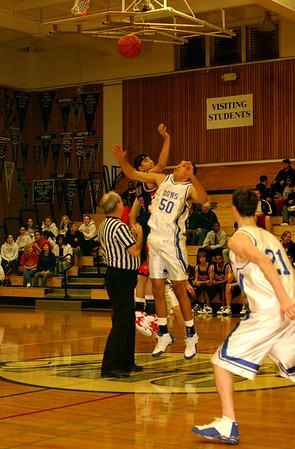 DHS Varsity Boys Basketball - 01-27-06