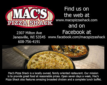 2013-10-09 Events - Fundraiser for Curt Krueger at Mac's Pizza Shack