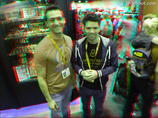 SDCC 2012 Wednesday Anaglyph