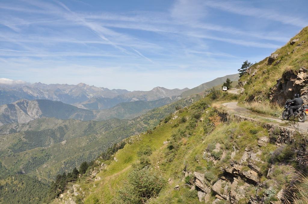 Tussen la Brigue en Redentore, zorg dat je hier ook tijd hebt om van het zicht te genieten!!!
