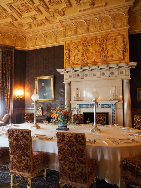 Breakfast room in the Biltmore
