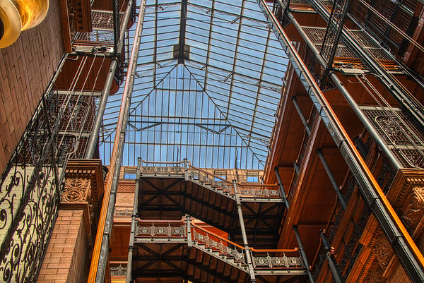 Bradbury Building - Los Angeles, CA