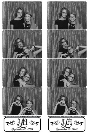 Lampros Wedding 2015 - Heidi and John - Photo Booth Strips