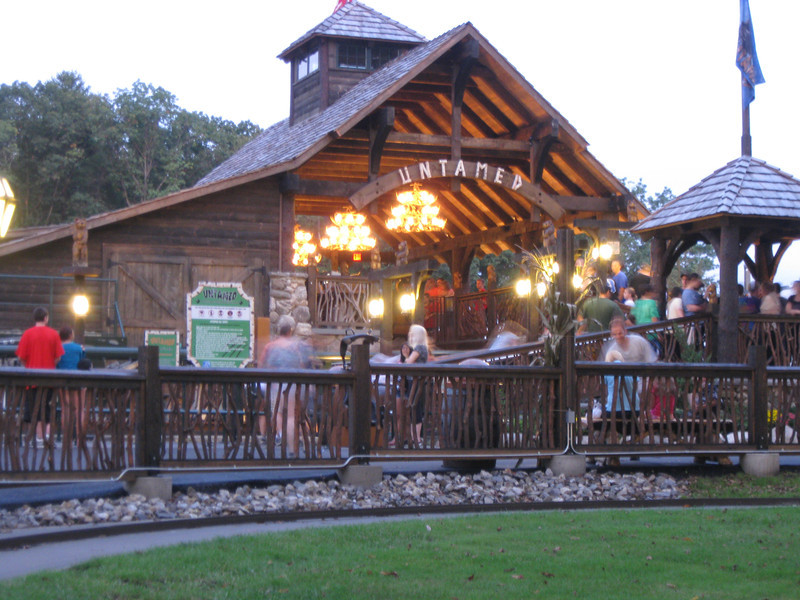 Untamed station building.