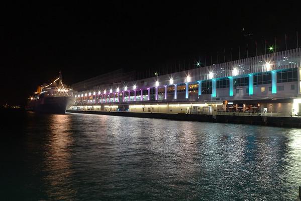 Hong Kong Harbor light Dancing