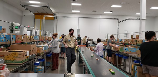 Centex foodbank volunteer