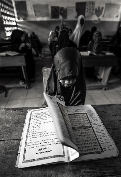Koranic school in Pangani.  Tanzania, 2019.