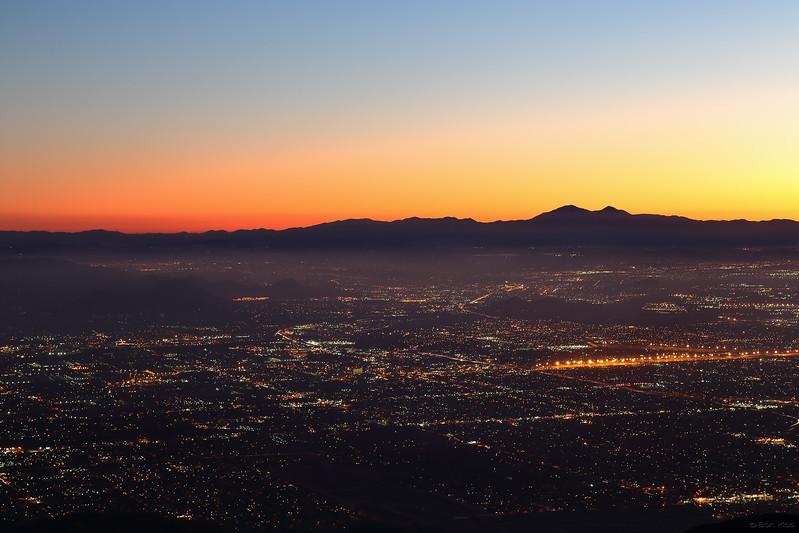 A view of San Bernardino from Arrowhead