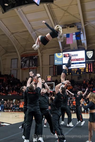 2019 OSU Beaver Dance and Cheer - ASU Game