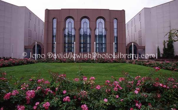 GERMANY, Mannheim. Mannheim Synagogue (consecrated, September 1987). (2006)