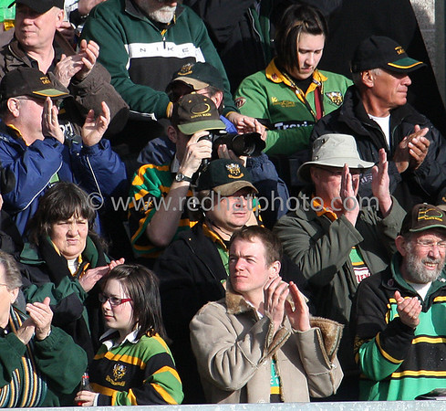 Northamptons Saints vs Rotherham Titans, National Division 1, Franklin's Gardens, 1 March 2003