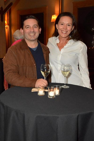Mark Mennucci and Hilary Redmond