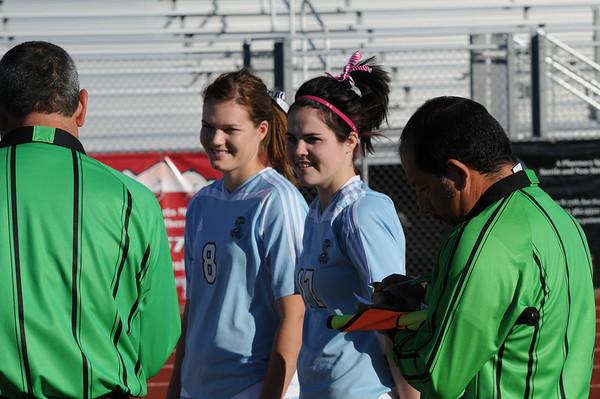 1/26/11 - Cactus Girls Var Soccer v Liberty