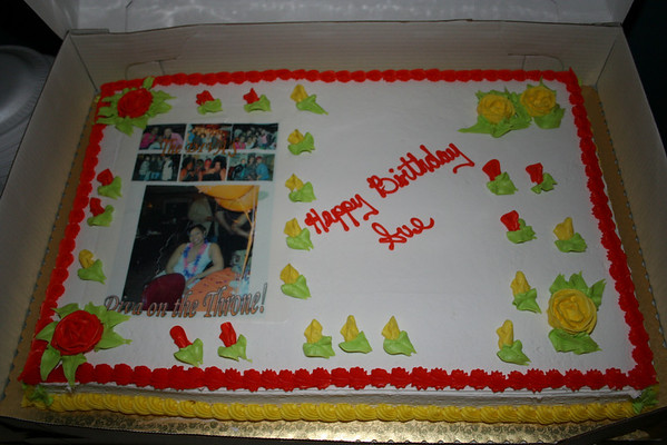 Sue's Birthday Plus extra