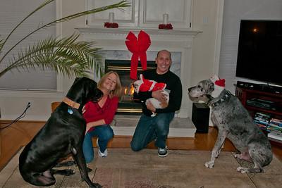 Sammy & Bella Christmas 2011