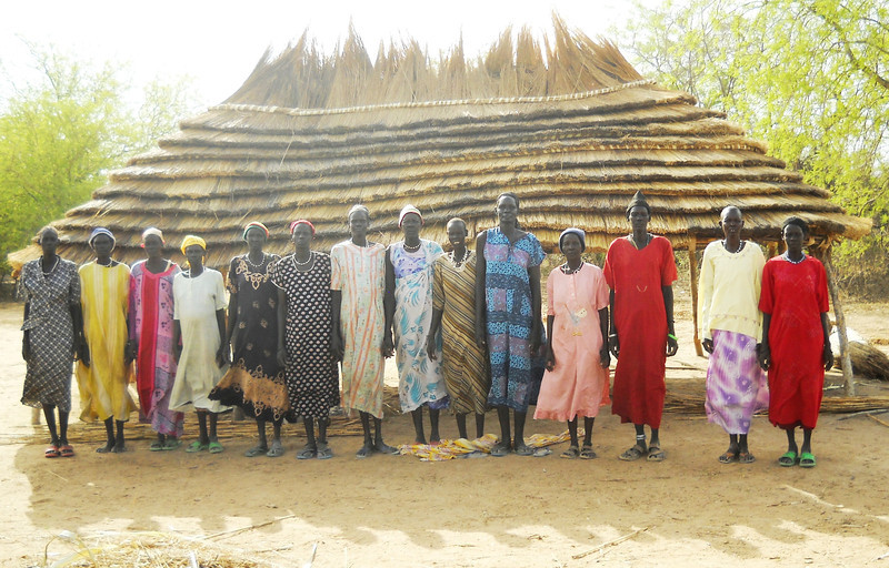 Some of the women of Thiou.