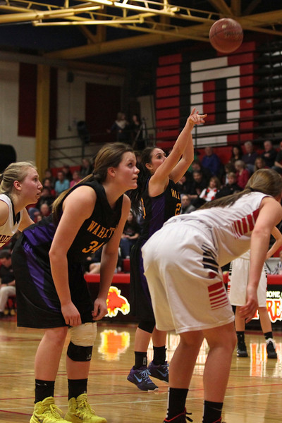 Girls BB at Devils Lake, Feb 7, 2014