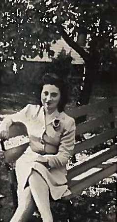 100th- Connie on bench