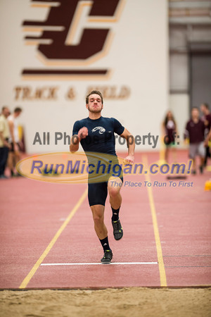 Mens Long Jump - 2014 CMU Jack Skoog Open