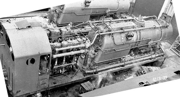 Interior view of one of the four Lima snowplows built in 1949-1950; two were for UP. <i>(Lifted from RYPN)</i>