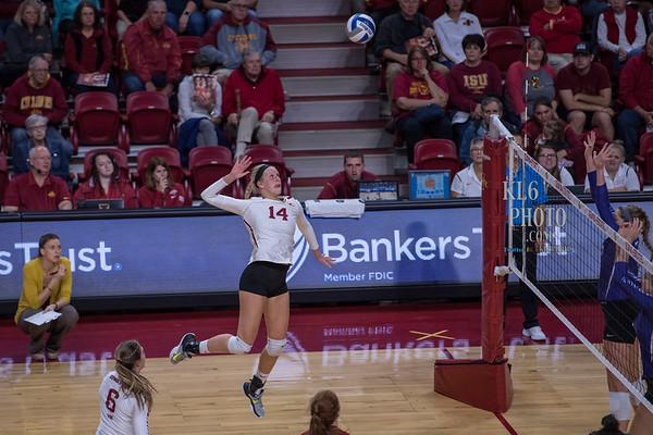 ISU Volleyball vs KSU 10/11/17