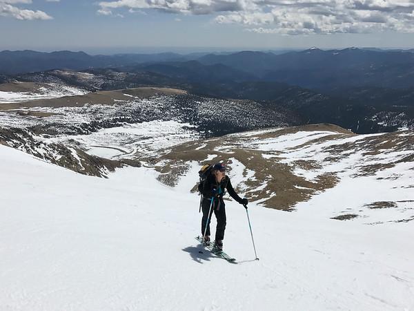 Skiing Mount Bancroft - 4-16-17