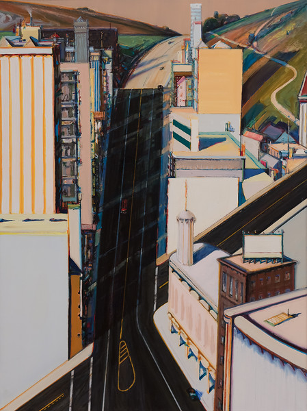 Wayne Thiebaud Sunset Streets.jpg