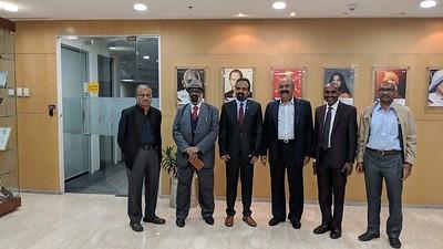 NRIVA Team's meeting with GMR Gaaru