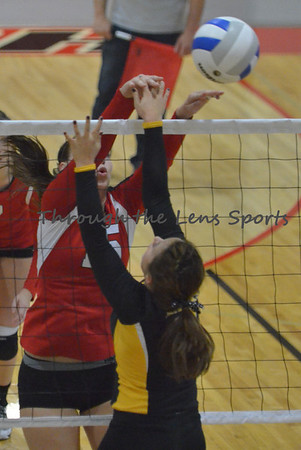 Central vs. Philomath HS Volleyball