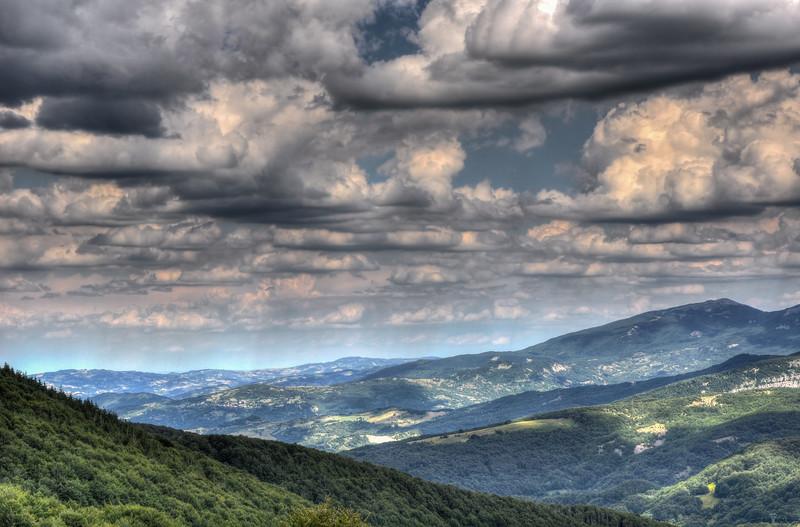Clouds - Comano, Massa Carrara, Italy - July 25, 2010