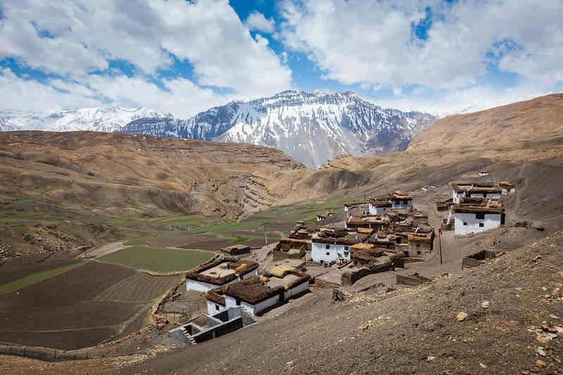 Village in Himalayas