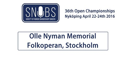2016-0421 SNOBS Olle Nyman Memorial