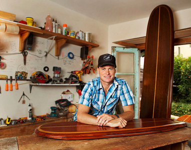 surfboard coffee table
