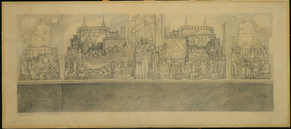 . Man at the Crossroads, Diego Rivera, 1932, pencil on paper, The Museum of Modern Art, New York, Given anonymously. Museum of Modern Art/Licensed by SCALA/Art Resource, NY