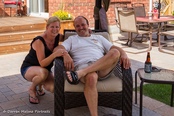 David & Tammy Stuckless Bradford Ontario BBQ 2015