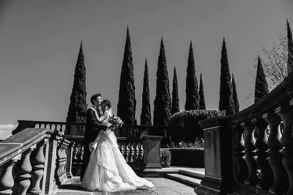 Jessica + Anthony I Greystone Mansion in Beverly Hills, California
