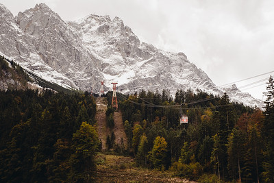 Winter is coming to Zugspitze