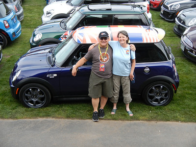 MINIs In The Mountains 2013