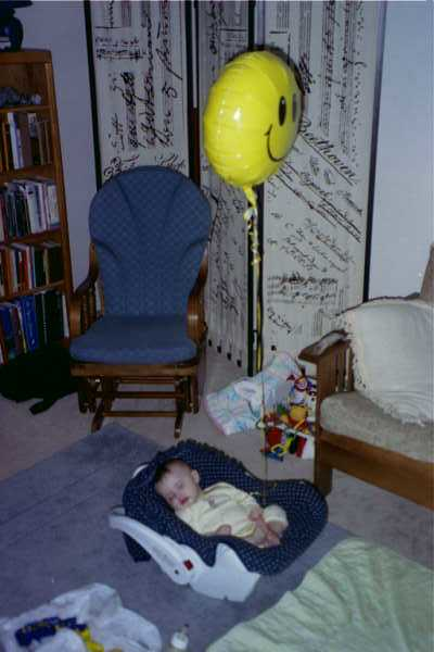 99 Allen asleep in carseat w balloon.JPG