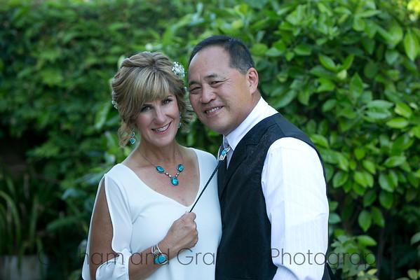 Long Beach western wedding