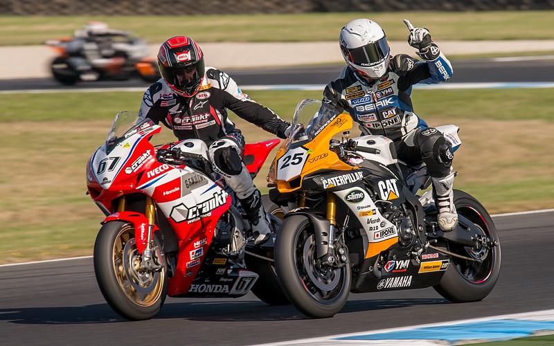 ASBK 2017 Round 1 - Superbikes