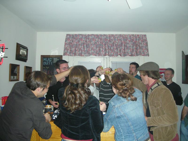 12/2/2006 - Mug Party