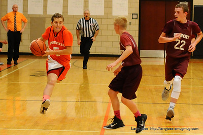 Jonesville vs Union City 7th Grade Boys Basketball